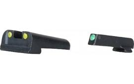 TruGlo TG131X Brite-Site Fiber Optic Springfield XD Fiber Optic Green/Red Black