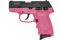 SCCY CPX4CBPK CPX4-CB Pistol DAO .380 10rd BLACK/PINK w/SAFETY