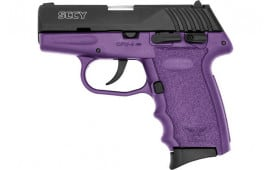 SCCY CPX4CBPU CPX4-CB Pistol DAO .380 10rd BLACK/PURPLE w/SAFETY