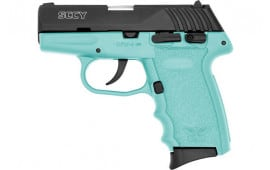 SCCY CPX4CBSB CPX4-CB Pistol DAO .380 10rd BLACK/SCCY Blue w/SAFETY