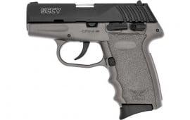 SCCY CPX4CBSG CPX4-CB Pistol DAO .380 10rd Black/SNIPER Gray w/SAFETY