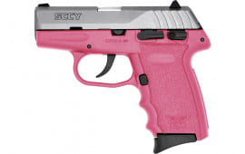SCCY CPX4TTPK CPX4-TT Pistol DAO .380 10rd SS/PINK w/SAFETY