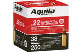 Aguila 1B221103 22 LR HV SP 38 GR 250/2000 - 250rd Box