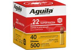 Aguila 1B221115 22 LR HV SP 40 GR 500/2000 - 500rd Box