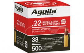 Aguila 1B221118 22 LR HV SP 38 GR - 500rd Box