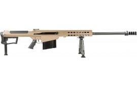 "Barrett 18065 M107A1 50BMG 29"" Fluted FDE Cerakote"
