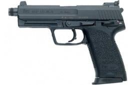 Heckler and Koch 81000352 USP45 Tactical V1 DA/SA 2 10rd