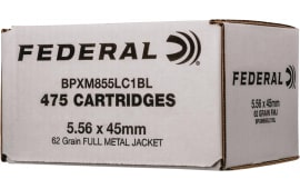 Federal BPXM855LC1BL 5.56X45 62 XM855 Bulk - 475rd Box