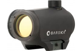 Barska AC11428 Micro Red Dot 1x 20mm Obj Unlimited Eye Relief 2 MOA Black Matte