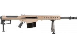 "Barrett 18066 M107A1 50BMG 20"" Fluted FDE Cerakote"