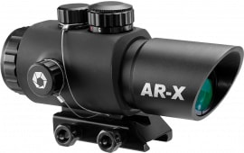 "Barska AC12146 Ar-x 3x 30mm Obj Illuminated Mil-Dot IR Reticle 2.75"" Eye Relief Black Matte"