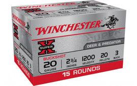 Winchester Ammo XB203VP 3BK Buck - 15sh Box