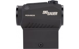 Sig Sauer Electro-Optics SOR52001 Romeo5 1x 20mm Obj Unlimited Eye Relief 2 MOA Graphite