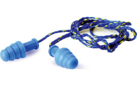 Walkers Game GWP-SF-TPRCORD-BL Corded EAR Plug Blue