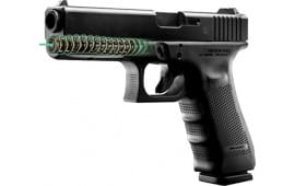 "LaserMax LMS-G4-17G Guide Rod Green Laser For Glock 17 Gen 4 4"" Black"