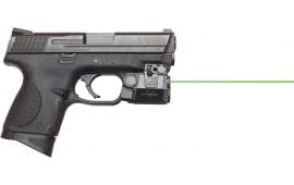 Viridian C5L C5L/C5LR Universal Compact Laser and Light Green Laser 532nm 100 Lm CR2 (1) Black