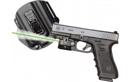 Viridian C5LPACKC1 C5L w/Tacloc Holster for Glock 17/19/22/23 Green Laser 100 Lm