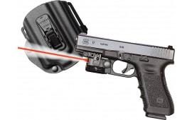 Viridian C5LRPACKC1 C5LR w/Tacloc Holster for Glock 17/19/22/23 Red Laser 100Lm