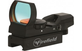 Firefield FF13004 Reflex 1x 33mm Obj Unlimited Eye Relief Multi-Reticle Black