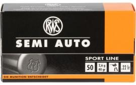 RWS 2138601 22LFB Semi Auto Sport Line