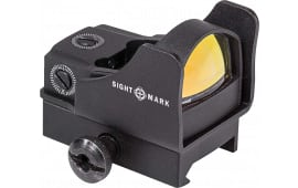 Sightmark SM26006 Mini Shot Pro 1x 23x16mm Obj Unlimited Eye Relief 5 MOA Black
