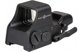 Sightmark SM26008 Ultra Shot 1x 33x24mm Obj Unlimited Eye Relief 5 MOA Black Matte