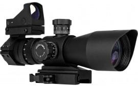 Trinity Force Corp SR11S3942RGB Redcon 3-9x 42mm Obj 37.9-11.5 ft @ 100 yds FOV 32.5mm Tube Dia Black Matte Mil-Dot/ Mirco Red Dot