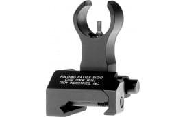 Troy Ind FBSFHBT00 Battle Sight Front Folding HK AR-15/M4/M16 Aluminum Black