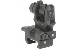 Command Arms FRS Low Profile Rear Flip Up Sight Aluminum/Polymer Black