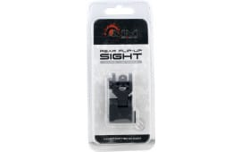 Aim Sports MT201 AR Low Profile Flip Up Rear Sights AR-15 Black
