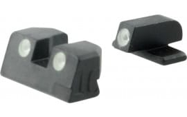 Meprolight 11411 Tru-Dot Night Sight Fixed Set Springfield XD Full Size 45 Tritium Green Black