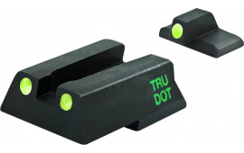 Meprolight 11545 Tru-Dot Night Sight Fixed Set HK 45C/P30/VP9 Tritium Green Tritium Green Black