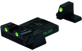 Meprolight 21516 Tru-Dot Night Sight Set HK USP Full Size/Expert/Tactical Tritium Green Tritium Green Black