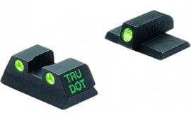 Meprolight 15120 Tru-Dot Handgun Night Sights Kahr K9/40/45 Tritium Green Black