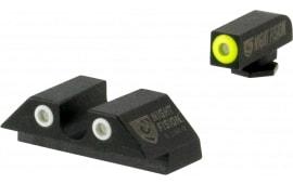 Night Fision GLK-001-07-YWX NS Glock 17/19 U-notch Rear