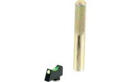 Wilson 668FOG245 Vickers Elite Snag Free Front Green Fiber Optic Glock 9/40 Black