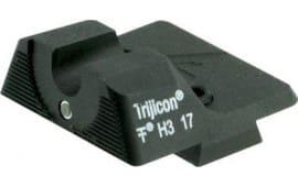 Wilson Combat 669T Vickers Elite Rear Battle sight Tritium Glock 9/40 Black