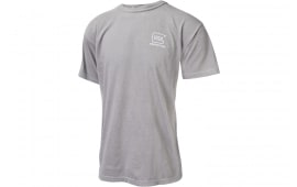 Glock AA75145 Perfection Logo SS Shirt Grey LG