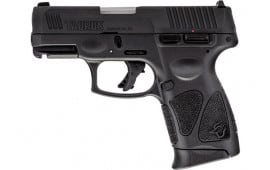 Taurus 1G3C93110 G3C 9mm Semi-Auto Pistol, 3.26 10 Round, Black on Black