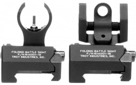 Troy IARSTBT00 Battle Sight Micro Set HK Front/Tritium Rear Black