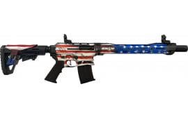 """CIT CBOSS2512USA BOSS25 18.75 3"""" 5rd US Flag Tactical Shotgun"""