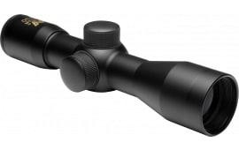 "NCStar SC430B Tactical 4x 30mm Obj 26.2 ft @ 100 yds FOV 1"" Tube Dia Black P4 Sniper"