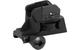 NcStar AR15 Detachable Rear Sight AR-15 Black