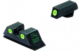 Meprolight 10222 Tru-Dot NS Fixed For Glock 10/45 20/21/29/30/36/41 Tritium Green