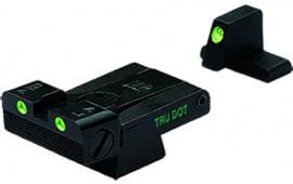 Meprolight 21516 Tru-Dot Night Sight Set HK USP Full Size/Expert/Tactical Tritium Green Tritium Green Black