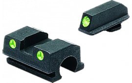 Meprolight 18801 Tru-Dot Handgun Night Sights Walther P99 Tritium Green Black
