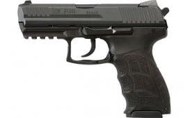 """Heckler and Koch 81000109 P30 V3 DA/SA Trigger 3.85"""" Barrel 2-10rd Black"""