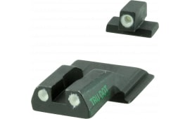 Meprolight 11770 Tru-Dot Tritium Sights S&W M&P Shield Tritium Green Tritium Green Black