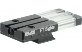 Meprolight 63121 FT Bullseye Rear Sight S&W M&P Shield Fiber Optic Green Black
