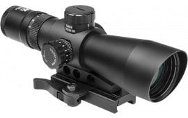 NCStar STM3942GV2 Mark III 3-9x 42mm Obj 36.8-12 ft @ 100 yds FOV Tube Dia Black Mil-Dot